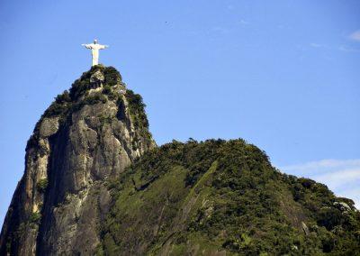 Rio de Janeiro-cristo redentor e pão de açúcar